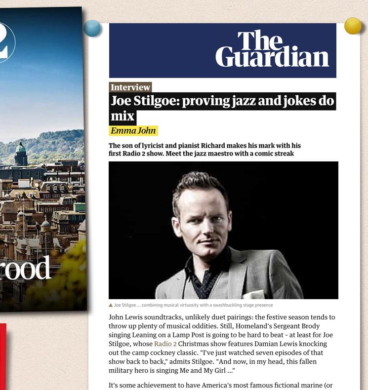 Joe Stilgoe Pinboard image 2